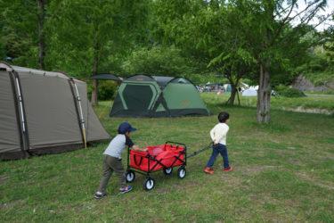 はじめてのお泊りキャンプ