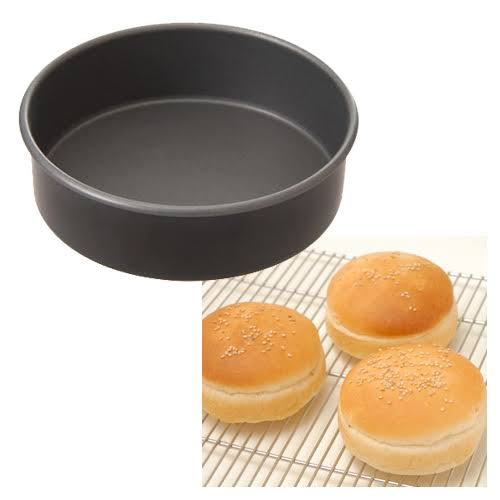 ハンバーガーバンズ型 フッ素樹脂加工